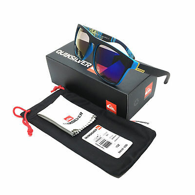 HOT With Box QuikSilver 1# Stylish Men Women Outdoor Sunglasses UV400