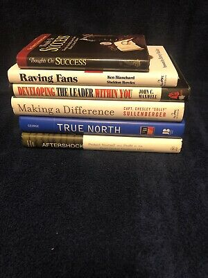 Management Business Leadership Motivational Goals Workplace  Lot Of 6 Books