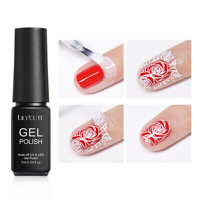 LILYCUTE 7ml Peel Off Latex Cold-resistant Odorless Naturally Dry Nail Art Tools