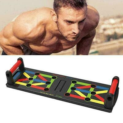 1 Satz Push Up Rack Board System Fitness Workout Train Körper Gym Übung st B8S3