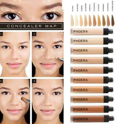 PHOERA Soft Makeup Long Lasting Oil Control Concealer Full Coverage Foundation