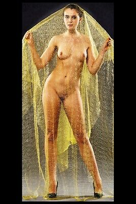 0104 SEMI NUDE female Breast model FINE ART PHOTOGRAPH