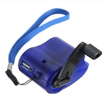 Emergency Power USB Hand Crank SOS Phone Charger Camping Backpack/Survival Gear