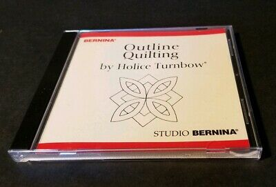 Studio Bernina Outline Quilting Embroidery Designs CD by Holice Turnbow