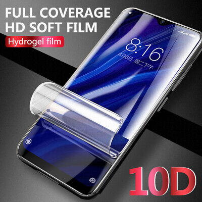 For Huawei P30 Pro Mate 20 10D Hydrogel Full Cove Screen Protector Matte Film