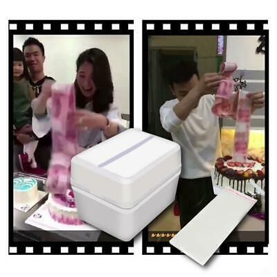Funny Toy Box cake Money Props Making Surprise For Birthday Cake Party Surprise