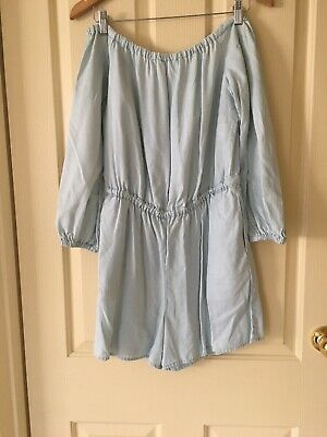 Ladies Size 10 Chambray Witchery Jumpsuit