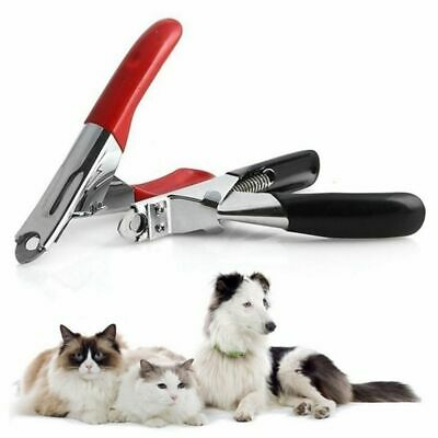 Pet Dog Cat Nail Toe Claw Clippers Scissors Shears Trimmer Cutter Grooming Kit