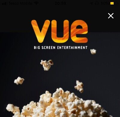 X1 VUE ANY Cinema Popcorn Medium UK - Code *INSTANT DELIVERY*