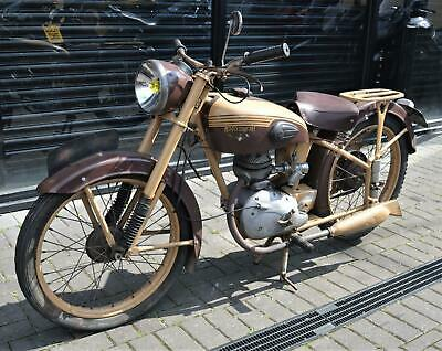 1951 MOTOCONFORT C45S 125cc * FRENCH CLASSIC - BARN FIND PROJECT (MOTOBECANE)