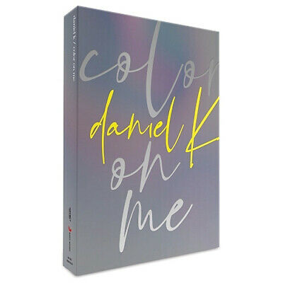 KANG DANIEL COLOR ON ME Mini Album CD+POSTER+Book+Film+4p Card+Sticker+Mark+GIFT