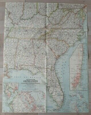 National Geographic Map of Southeastern ..... (Jan, 1958).