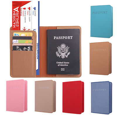 New Dedicated Travel Passport ID Card Cover  Holder Case Protector Organizer