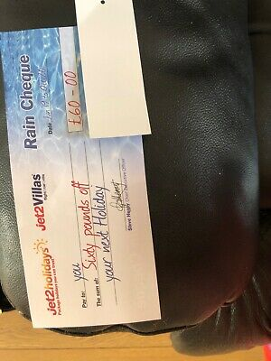 JET2HOLIDAYS sixty pound discount voucher. 3 available