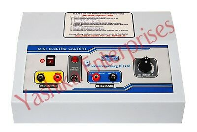 Electrical Surgical Cautery diathermy Unit Mini Electrosurgical Skin -Cauter MBH