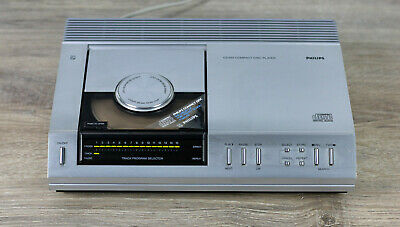 PHILIPS CD 100 Compact Disc Player volle Funktion, guter Zustand