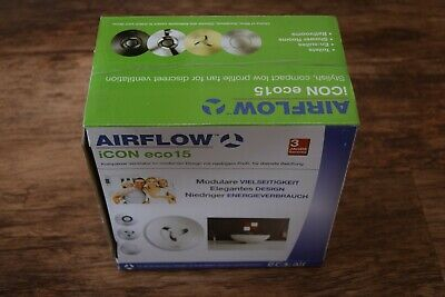 AIRFLOW ICON ECO 15 EXTRACTOR FAN 72683501  NEW  BOXED 230-240v FREE POSTAGE