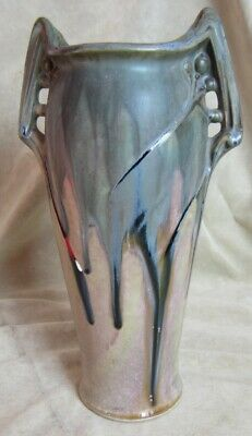Large Early Denbac Art Nouveau Vase
