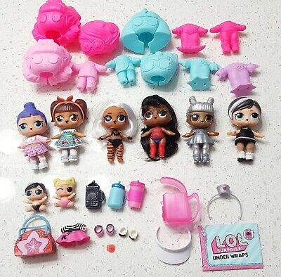 LOL Surprise Dolls Lot - big sisters and lil sisters INCLUDED LOL the GAME