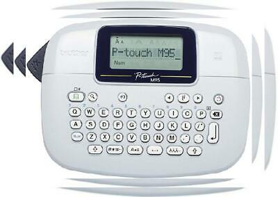 Brother PT-M95 Label Maker, P-Touch Labeller, QWERTY Keyboard, Printer