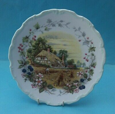 Bone China Royal Albert Cottage Garden Year Series Collector Plate - Autumn