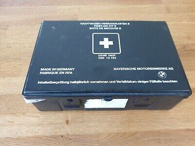 Bmw first aid kit classic Din 13 164  M3 1999 Year complete kit