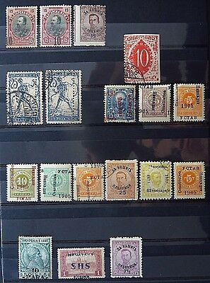 Stamps with Errors Yugoslavia Croatia Bulgaria ALbania **/*/o