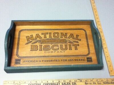 National Biscuit Company Wood Serving Tray 200th Anniversary Collection  BC4