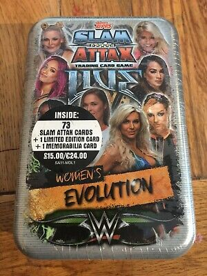 Topps WWE Slam Attax 10th Edition Trading Card 36 Packet Packs Box New Sealed
