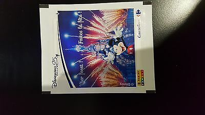 Panini STICKER image Disney carrefour 2017 belge 1 image RARE speciale