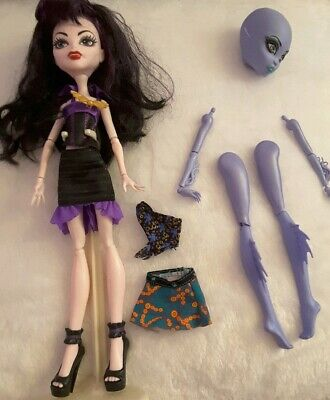 Monster High Create A Monster Doll And Accessories with stand