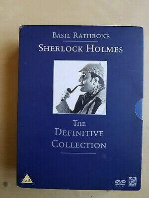 Sherlock Holmes The Definitive Collection Dvds