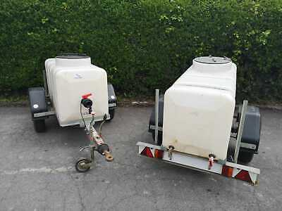 Ex SWW Water Bowser-Western Trailers, Clean Water Use Only, Lots of Options