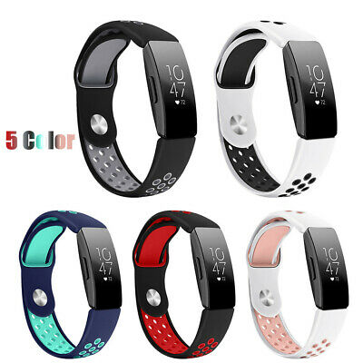 Large Fashion Sport Silicone Bracelet Strap Band For Fitbit Inspire/Inspire HR L