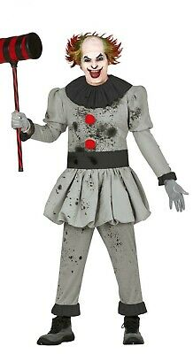 Killer Clown Halloween Costumes For Girls.Pennywise Scary Killer Clown It Boys Child Costume 27 90 Picclick