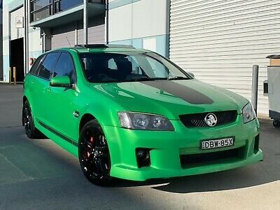 2009 HOLDEN COMMODORE VE SS 6.0L 6SPD MANUAL WAGON IN ATOMIC Not HSV R8 VF SSV