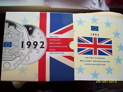1992 uk bunc coin collection(m069)