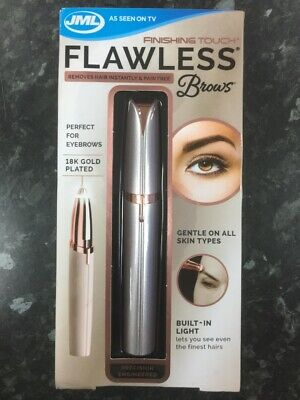 JML Finishing Touch Flawless Brows Eyebrow Shaper & Trimmer