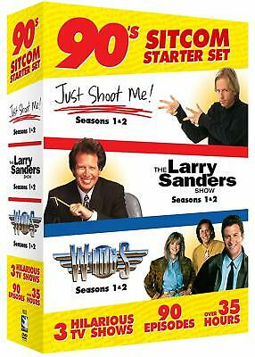 Comedy Starter Set (Just Shoot Me / The Larry Sanders Show / Wings)  New/Sealed