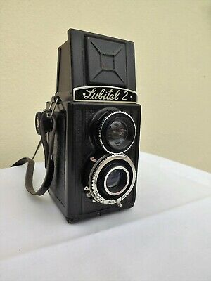 Vintage Lubitel 2 Twin Lens Reflex Box Camera Made In The Ussr