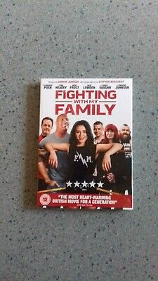 Fighting With My Family DVD - Dwayne Johnson The Rock WWE - New & Sealed