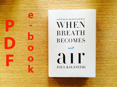 When Breath Becomes Air by Paul Kalanithi Fast Delivery
