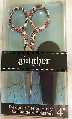 Emily-Gingher Designer Series-4 inch embroidery scissors
