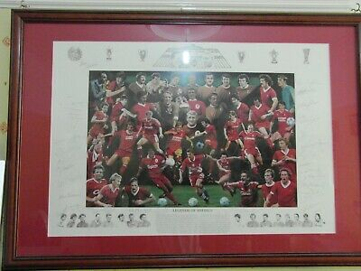 Limited Liverpool Legends of Anfield 30 Signatures  Certified