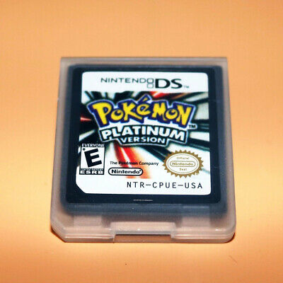 Pokemon:Platinum version (Nintendo DS,2009) Game Card for 3DS NDSI NDS UK X1W9F