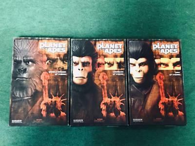 Planet of the Apes 16pics Cornelius Zira 12in Action Figure 1/6th  SIDESHOW F/S