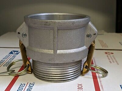 "DIXON Global Cam & Groove 2-1/2"" Aluminum Type B Coupler x Male NPT"