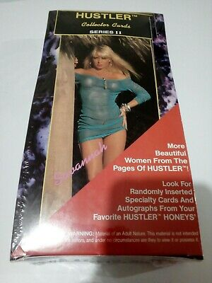 Hustler Series 2 Trading cards Sealed Box 36 Packs 1993