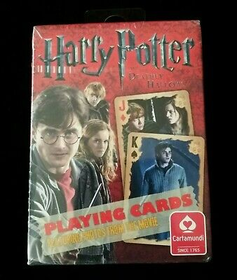 Harry Potter and the Deathly Hallows  Playing Cards NEW SEALED * FREE SHIPPING *
