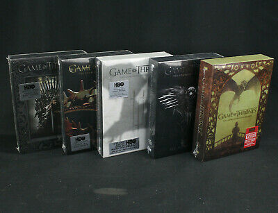 Game of Thrones Complete Season 1-5 DVD Box Sets Region 1 NTSC All New/Sealed!